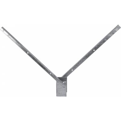 """,,V"""" formájú tüskés tartó Szürke - 60x40 mm"""